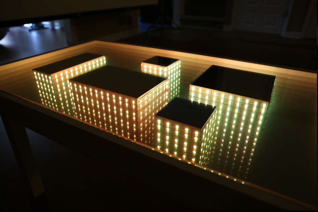 1000 Ideas About Infinity Mirror Table On Pinterest Infinity Table Illuminated Mirrors And